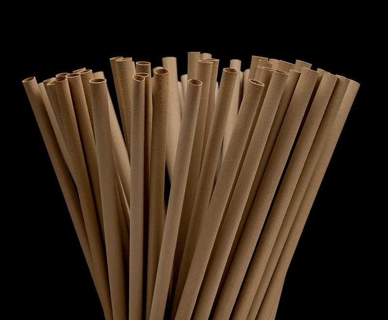 YOLLY Natural Plant Fiber Straw 天然植物纖維吸管