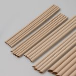 YOLLY Natural Bamboo Fiber Straw 天然竹纖維吸管